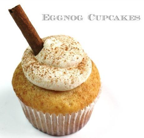 Eggnog Cupcake   Eggnog cupcakes and Cupcake