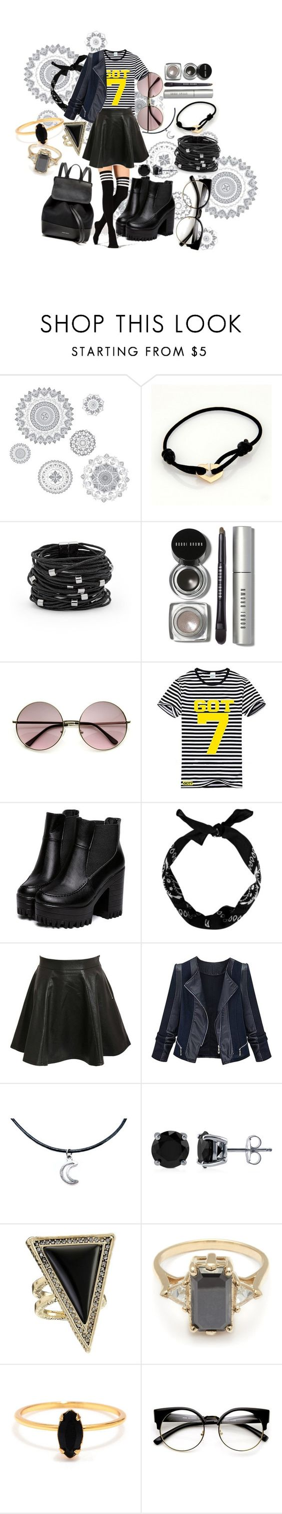 """""""Fã Got7"""" by sarethoran on Polyvore featuring WallPops, Cartier, Chico's, Bobbi Brown Cosmetics, Bambam, Pilot, BERRICLE, House of Harlow 1960, BEA and Bing Bang"""