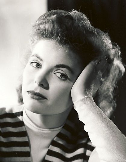 "Dorothy McGuire, Jun.14,1916 - Sep.13,2001. (""A Tree Grows In Brooklyn""). Cardiac Arrest"