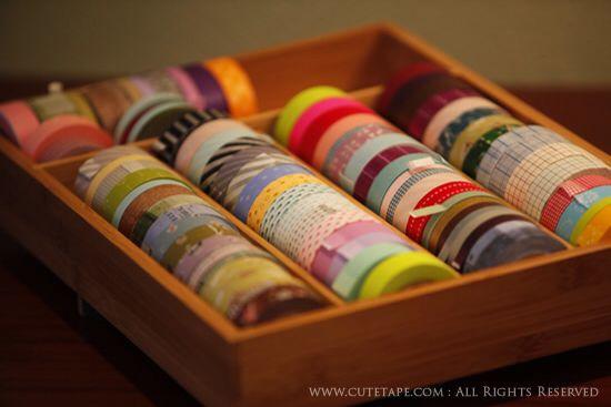 Todos los colores y organizados!