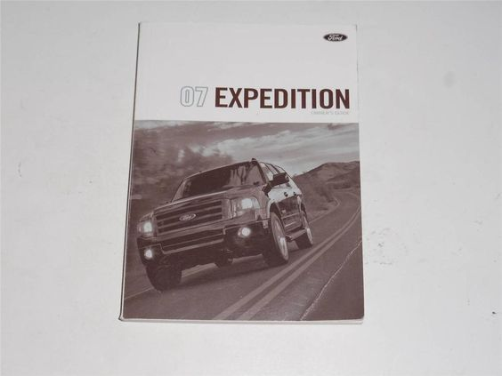 2007 ford expedition owners manual book guide owners manuals 2007 ford expedition owners manual book guide owners manuals pinterest fandeluxe Images