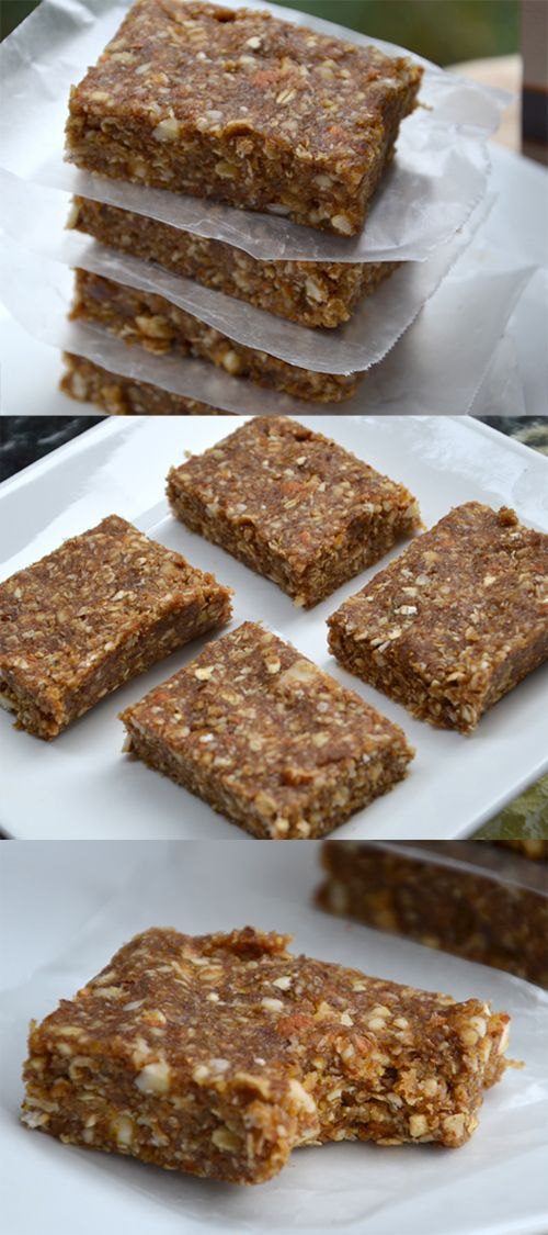 High-Fibre Oat & Almond Bars. Easy to make with only 6 ingredients! Made with Ultimate Daily Cleanse. #vegan #cleaneating