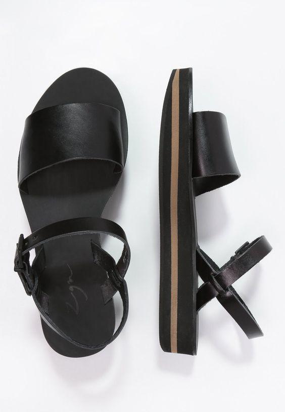 Ein toller Look für die warmen Tage ist dir garantiert. Zign Plateausandalette - black für 79,95 € (10.04.16) versandkostenfrei bei Zalando bestellen.