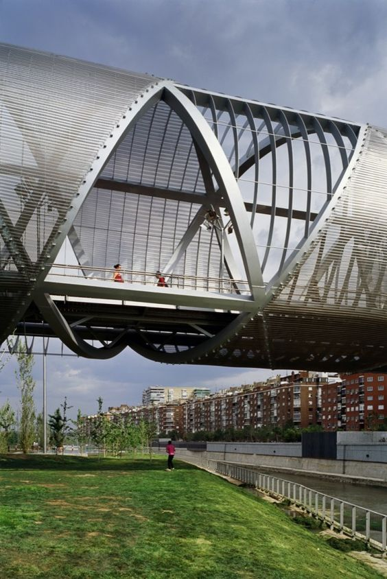 Perfect Arganzuela Footbridge | Arganzuela Dominique Perrault | Pinterest |  Architecture And Contemporary Architecture Good Ideas