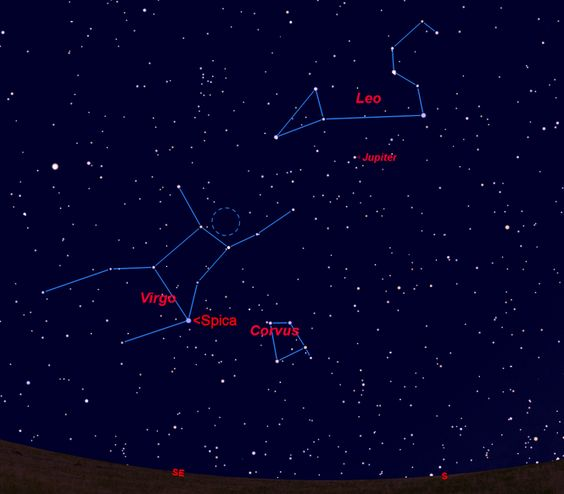 The constellation Corvus, the crow, is home to Superman's fictional home planet Krypton.
