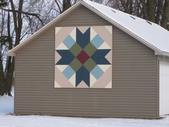 Barn Quilts of Grundy County Iowa Want on like this? Order one today in time for the holidays! custombarnquilts@gmail.com