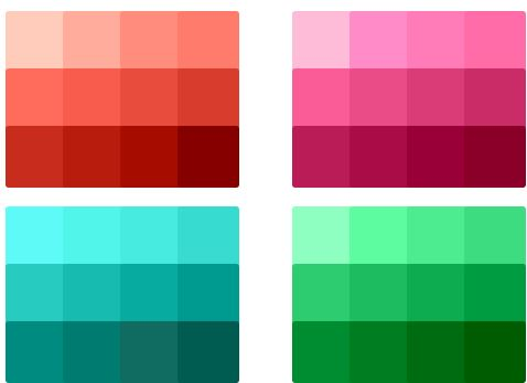 Easily find HTML color codes for your website using our color - html color code chart