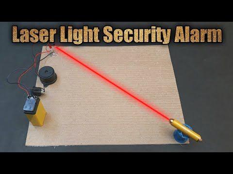 How To Make A Laser Light Security Alarm System Youtube Elektronik Devre Elektronik
