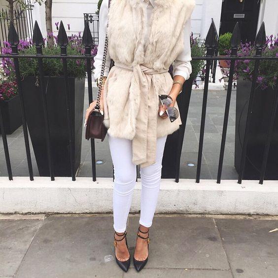 Fur x White