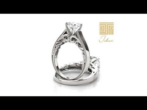خاتم سوليتير الماس ناعم خاتم سوليتير 2019 Youtube Engagement Rings Rings Engagement