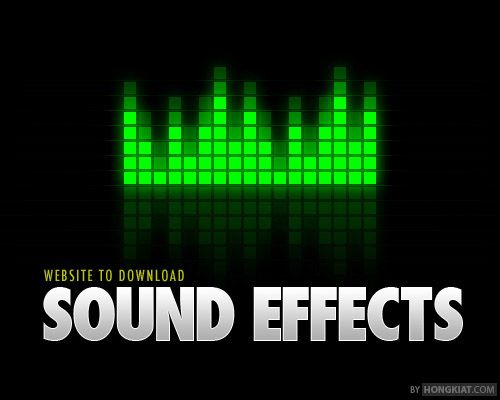 Here's 55 websites for free sound effects download. Full list after jump!
