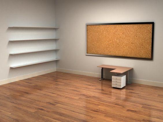 desktop office shelves office ideas pinterest