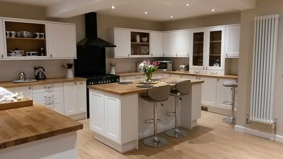 Our new Burford White Howdens Kitchen