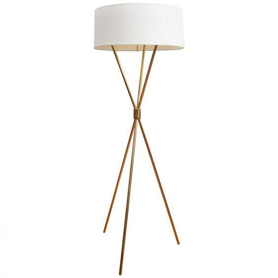 tripod floor lamp styles beautiful white gold tripod floor lamp. Black Bedroom Furniture Sets. Home Design Ideas