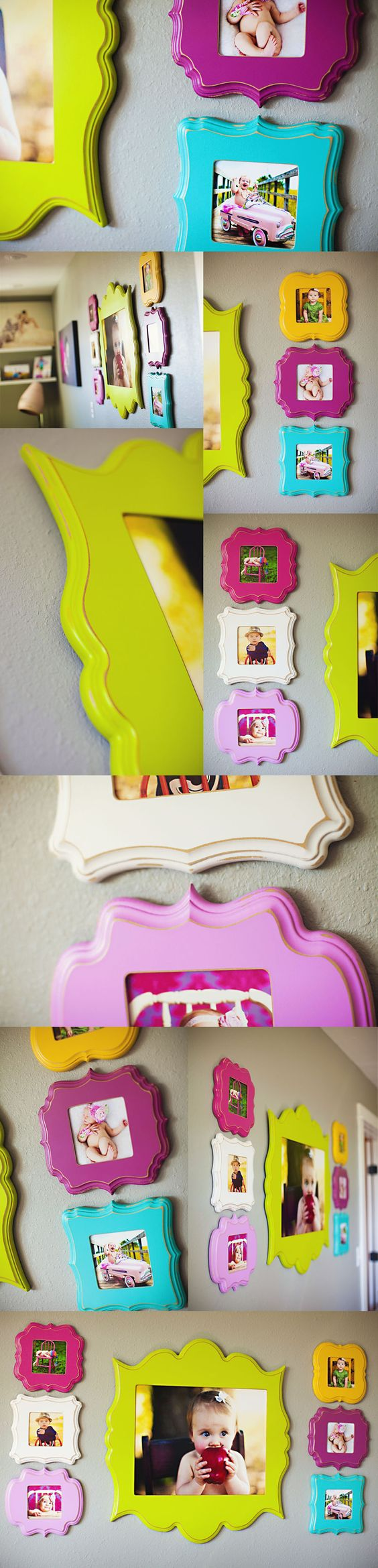 Need to find frames like this for Lydia's room!