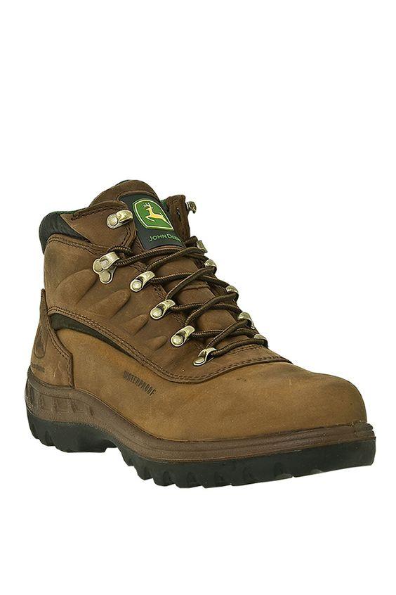 John Deere 5' Waterproof Hiker Work Boots | John deere and Boots