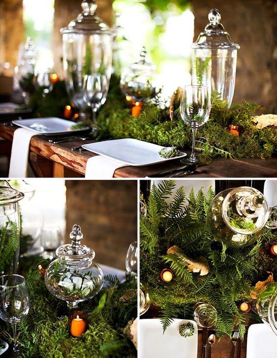 ウエディングにぴったり!グリーンが素敵なテーブルコーディネート | Mikiseabo -ミキシーボ-:
