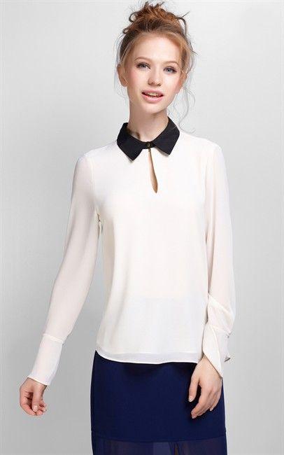 Ozsale - White Blouse - Ozsale.com.au