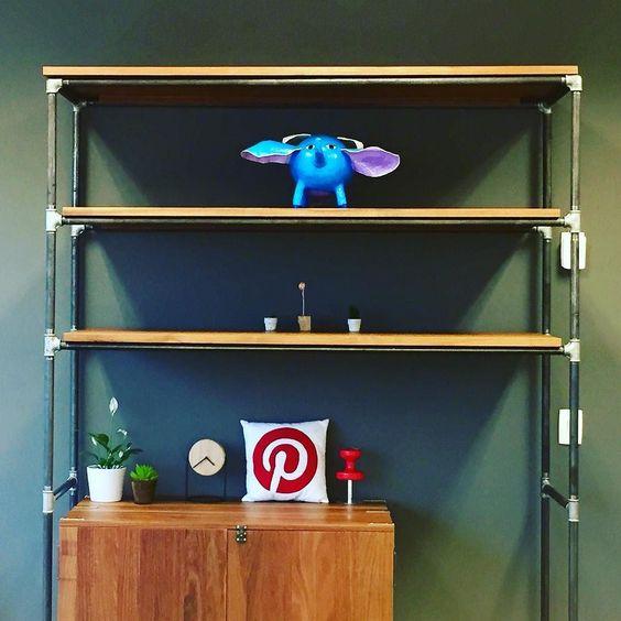 Detalhe do nosso novo escritório Pinterest Brasil