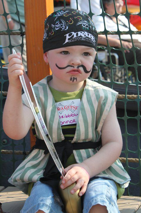 Pirate inspired birthday parties are always a blast.