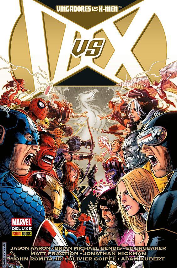 Vingadores vs. X-Men - Marvel Deluxe - MonsterBrain