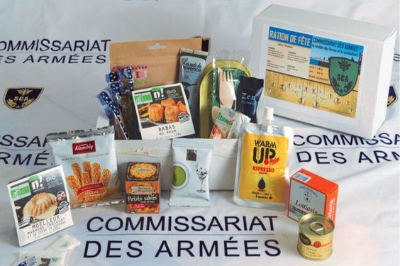 « Ration de fête », French combat meal especially made for end of year (1 024 px × 682 px)