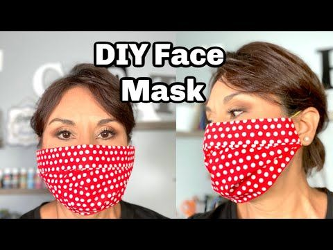How To Diy Face Mask No Sew Easy To Make Dollar Tree Diy