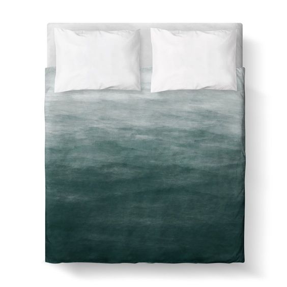 Duvet Cover, Ombre by Kalilaine