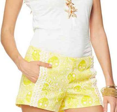 Lilly Pulitzer Liza Short in Sunglow Yellow- almost bought these recently, feeling like I should have!!