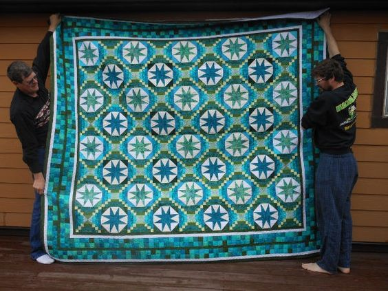 Smith Mountain Morning - a Bonnie Hunter pattern. Made by Rose H. [roseh1%255B7%255D.jpg]