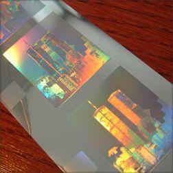 Hologramme - Holografische Folien - Folies || Packvision