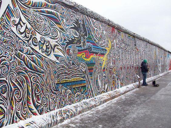 Berlin Wall Graffiti | getting lost can be a good thing - Berlin wall graffiti