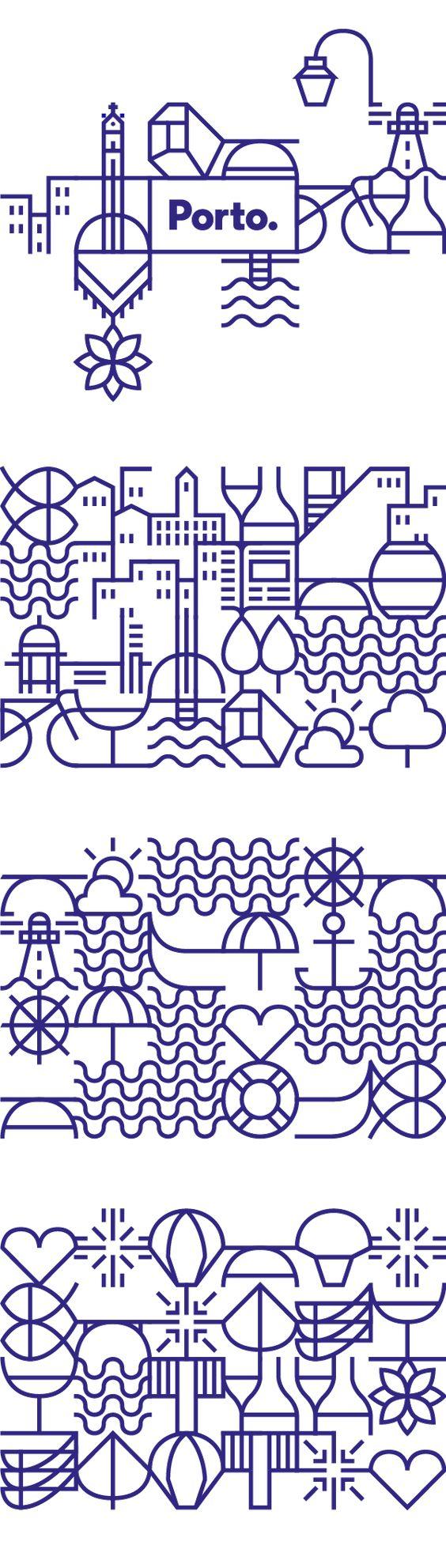 Le studio portugais White réalise la nouvelle identité pour la ville de Porto.Le défi présenté était très clair : la ville avait besoin d'un système visuel, une identité visuelle qui...