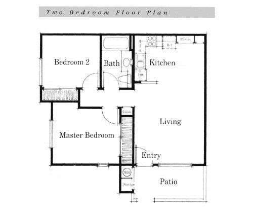 Drupadi Bedroom Simple 4 Bedroom Floor Plans Simple House Plans Simple House House Layout Plans House floor plan simple