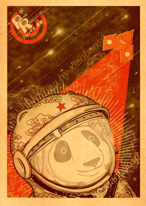 A revolução panda nas ilustrações de William Chua