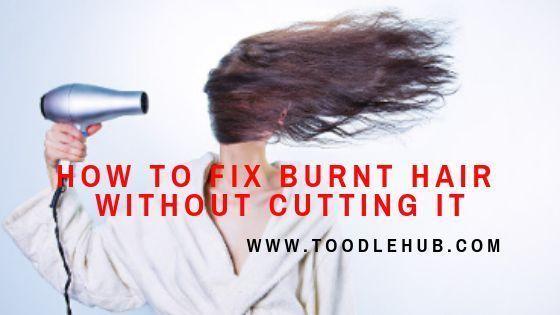 Pin On Burnt Hair