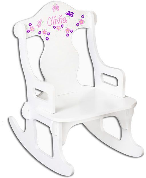 ... personalized puzzles rocking chairs rockers puzzles chairs pink girls