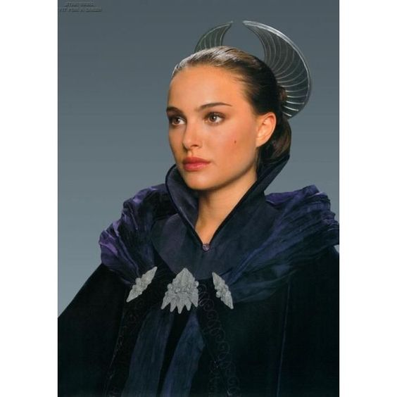 Confessions of a Seamstress The Costumes of Star Wars Padme Amidala ❤ liked on Polyvore featuring costumes, star wars halloween costumes, blue costume, star wars costumes and blue halloween costume