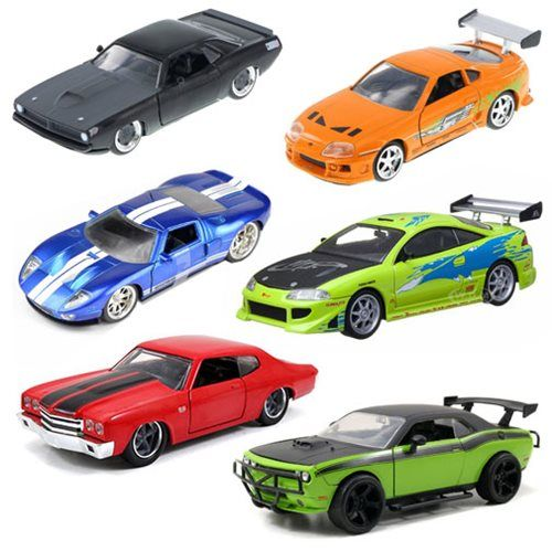 Fast And Furious  Scale Cast Vehicle Wave  Case