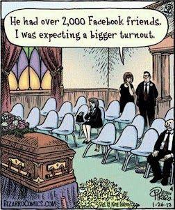 A sad funeral. #socialmedia #social media