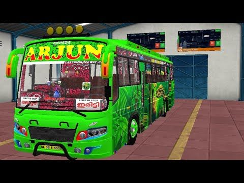 How To Download And Install Maruthi V2 Bus Mod In Bus Simulator Indonesia Bussid Maruthi Bus Game Youtube Bus Games Truck Games Star Bus