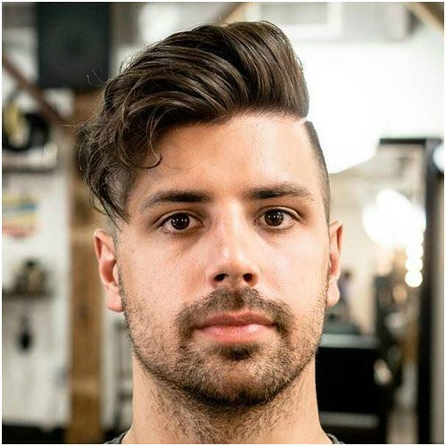 13 Animated Hairstyle For Round Face Men Model