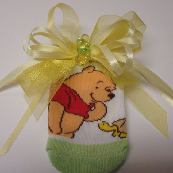 Winnie The Pooh Corsage; New Mom to be Corsage; Winnie the Pooh Themed Shower…