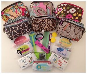 Women's Everything Purse Emergency Kit Travel Bag Up to 65 Items to Include | eBay