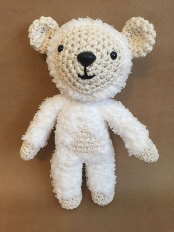 Amigurumi Toy, Bear Toy, Handmade toy by Sanaya321 on Etsy