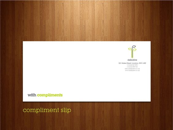 Definitive Compliment Slip wine bar Pinterest Compliments - compliment slip template