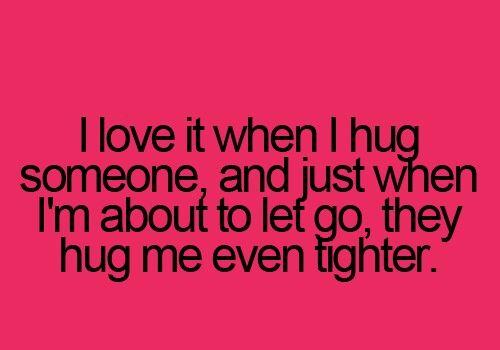 Power of hugs