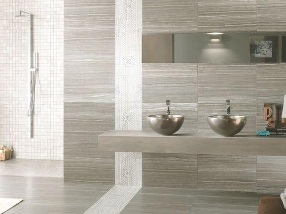 Rivestimento gres porcellanato marmo eramosa - Rivestimento bagno gres porcellanato ...