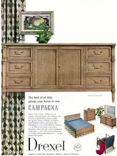 campagna drexel furniture henry koster italian design bedroom sideboard 1956 ad bedroom sideboard furniture