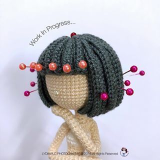 Tutorial: Amigurumi Hairstyling | CuttleCraft | 320x320